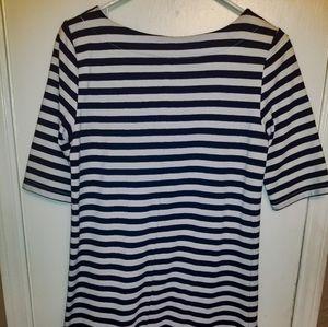 Comfy, casual sailor stripe dress